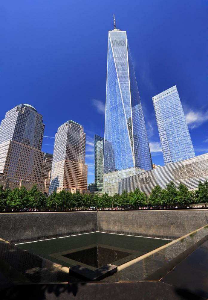 Modern skyline of Lower Manhattan, New York City