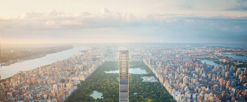 Supertall 111 West 57th Street Rises Seven Stories In Midtown